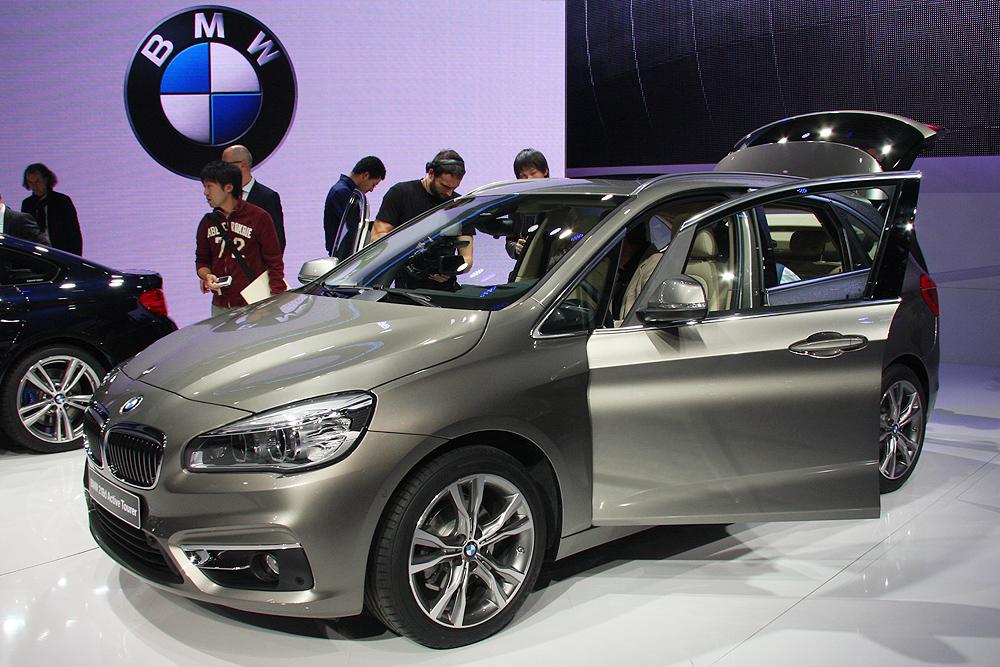 BMW с передним приводом – Series Active Tourer