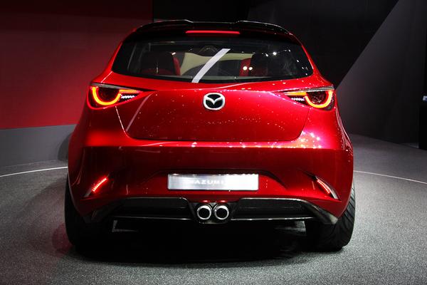 Mazda 2 в Женеве