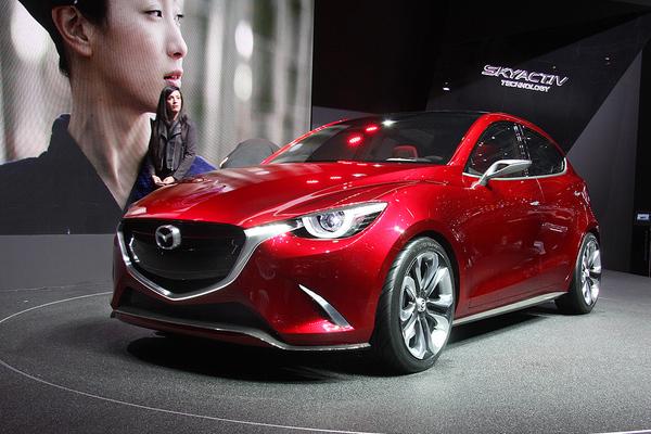 Mazda 2 на Женевском автосалоне