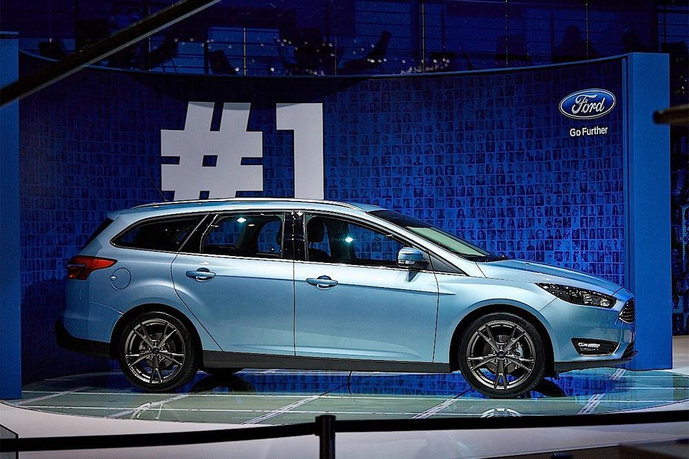 новый рестайлинговый ford focus